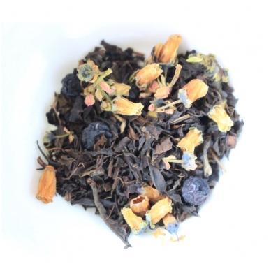 Šilauogių juodoji arbata