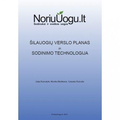 Šilauogių verslo planas ir sodinimo technologija (EL. VERSIJA)